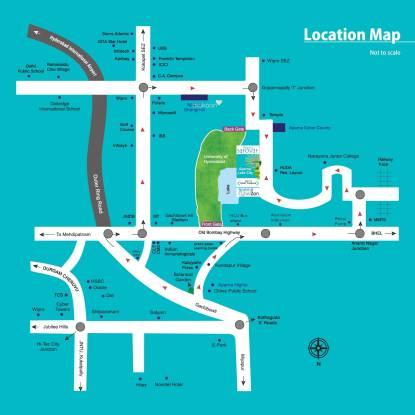 Aparna CyberZon Location Plan