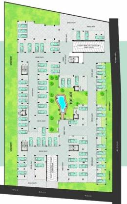 Dhaani 9 Square Cluster Plan