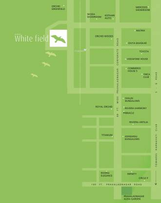 Goyal Orchid Whitefield Location Plan