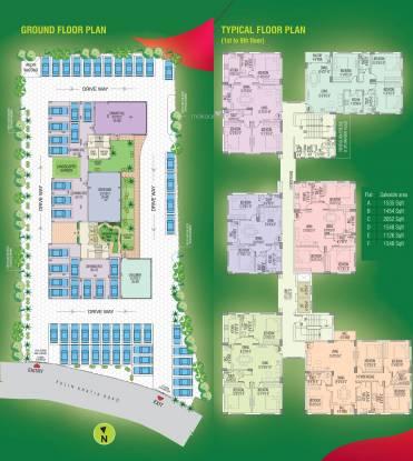 Rajat Boulevard Cluster Plan