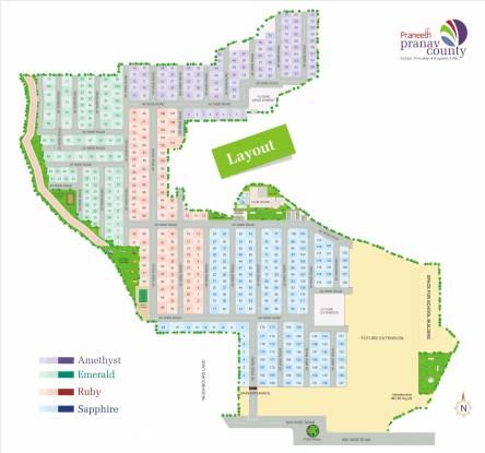 Praneeth Pranav County Layout Plan