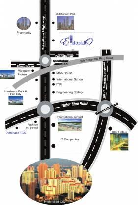 Green Eldorado Location Plan