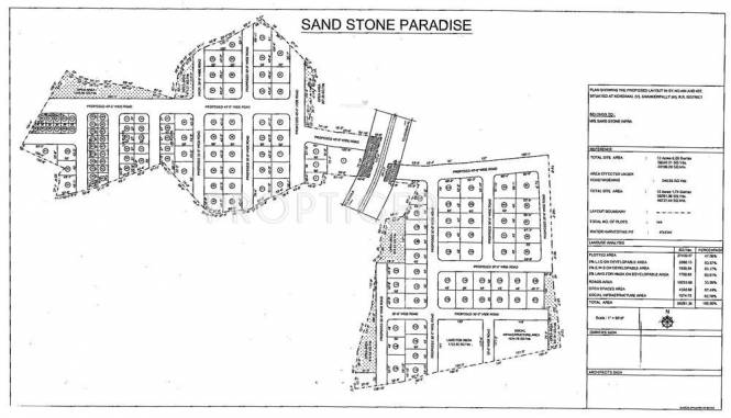 Sandstone Paradise Layout Plan