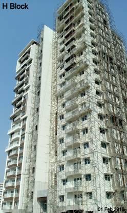Aparna Sarovar Grande Construction Status