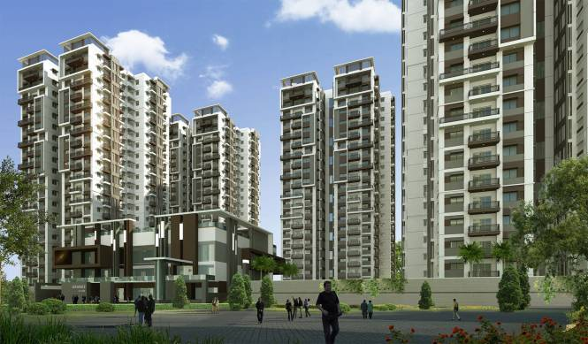 Aparna Sarovar Grande Elevation