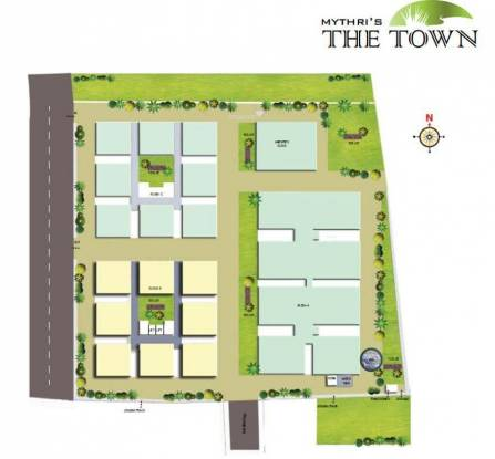 Mythri The Town Site Plan