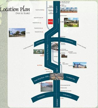 DRR Ananda Nilayam Location Plan