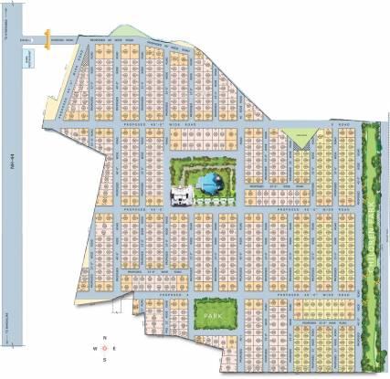 DRR Ananda Nilayam Site Plan