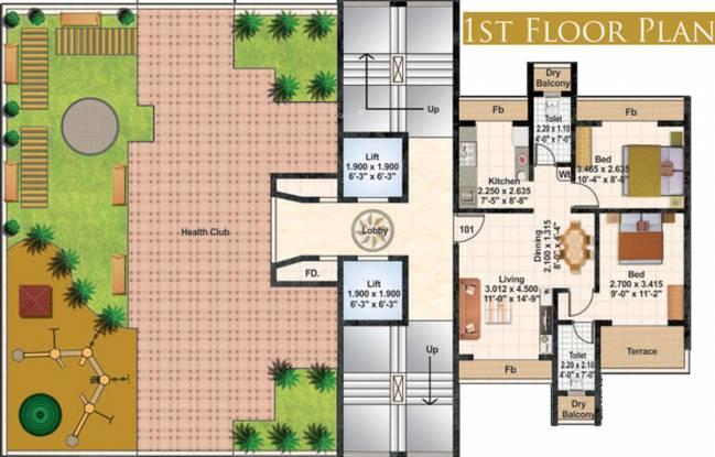 Juhi Lawns Cluster Plan