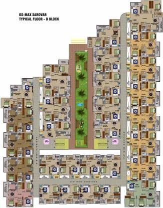 DS Sarovar Cluster Plan