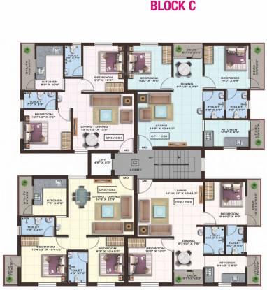 Colorhomes Gates Cluster Plan