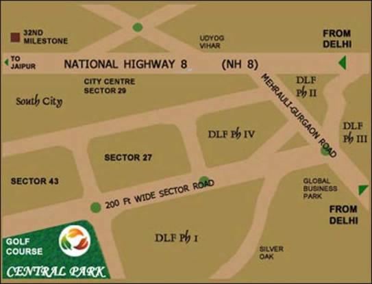 Central Park Central Park 1 Location Plan