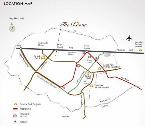 Central Park Bellevue Location Plan