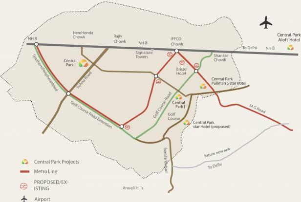 Central Park Belgravia Resort Residences 1 Location Plan