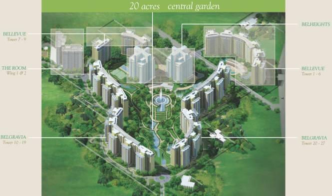 Central Park Belgravia Resort Residences 1 Elevation