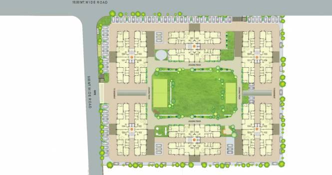 Siddhi Aarohi Crest Layout Plan