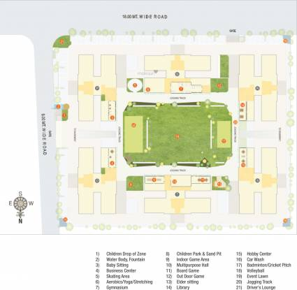 Siddhi Aarohi Crest Site Plan