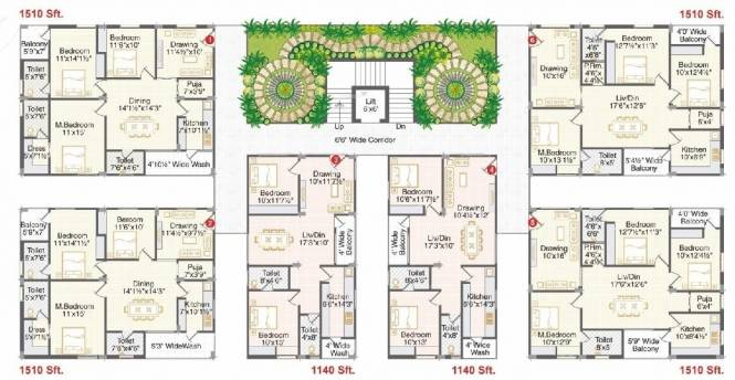 Flats For Sale In Ark Homes Bolarum