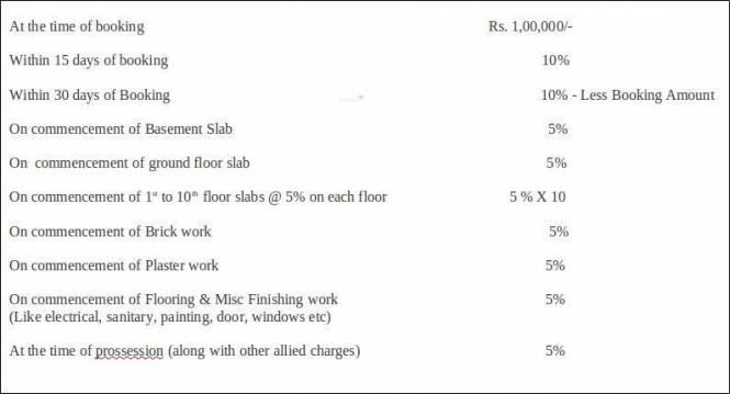 Jhaveri Silver Lake Vista Payment Plan