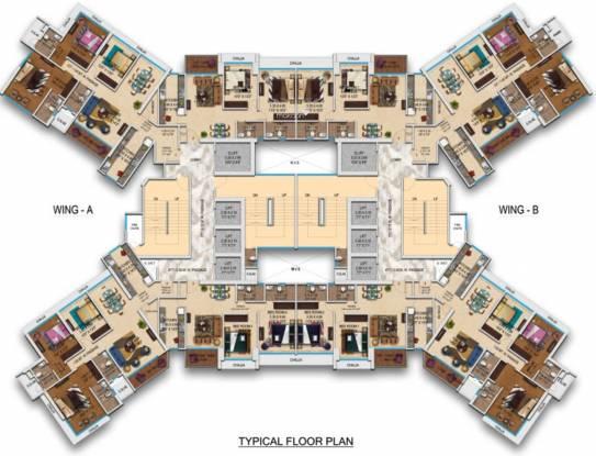 Transcon Triumph Tower 1 Cluster Plan