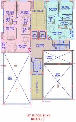 Banyan Sunland Residency Cluster Plan