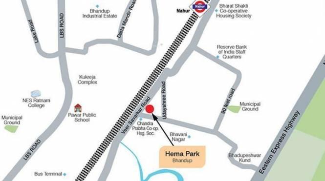Ashford Hema Park Location Plan