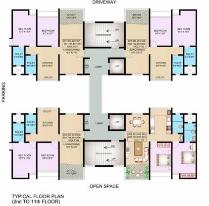 Nanded Madhuvanti Cluster Plan