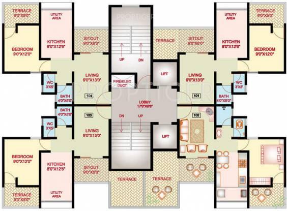 Nanded Mangal Bhairav Cluster Plan