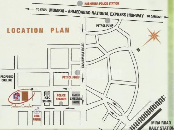 Sadguru Complex Location Plan