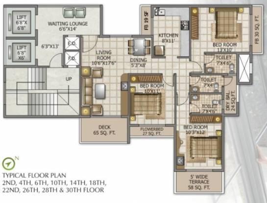 Swaraj Queensbay Cluster Plan