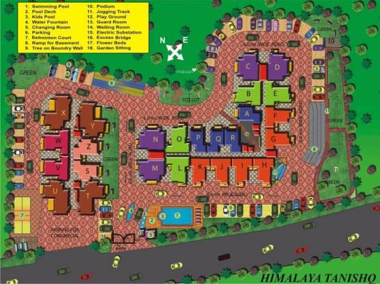 Himalaya Tanishq Layout Plan
