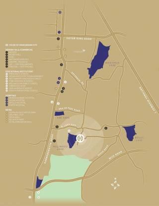 Hiranandani Queensgate Location Plan