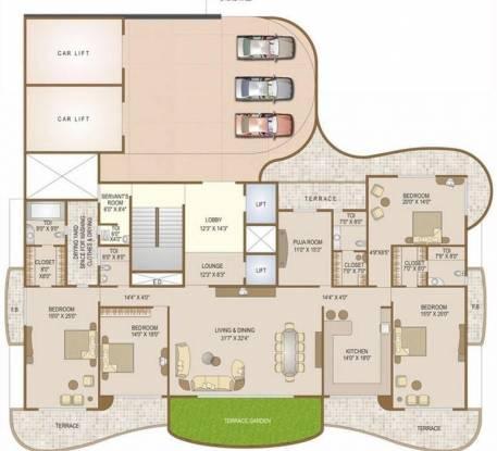 Ellora Castle Cluster Plan