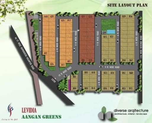 Levidia Aangan Greens Layout Plan
