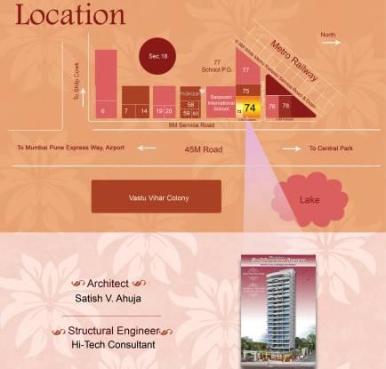 Maatoshree Sai Moreshwar Luxuria Location Plan