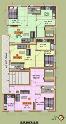 MS Sri Ambal City Cluster Plan
