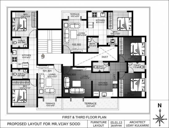 Ameya Lotus Cluster Plan