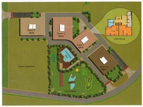 Proview Laboni Site Plan