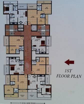 Sambhav Jai Plaza Cluster Plan