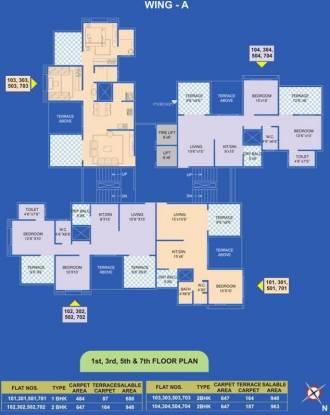 Karan Reelicon Vishwa Cluster Plan
