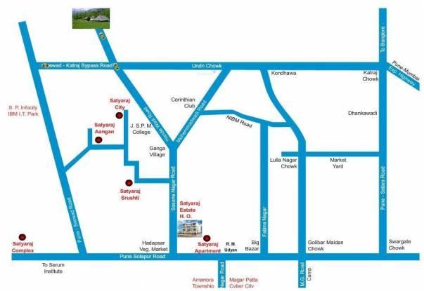 Satyaraj Village Location Plan