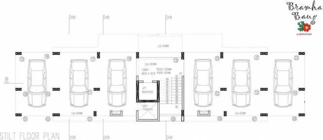 BramhaCorp Bramha Baug Cluster Plan