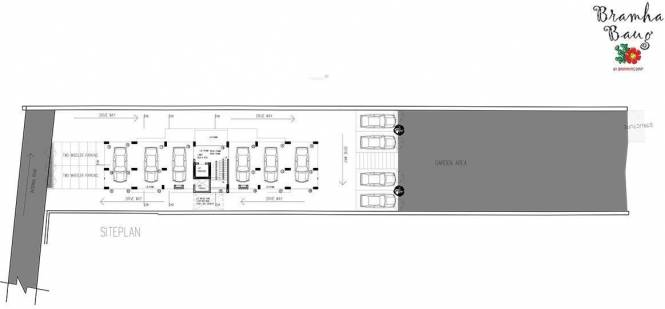 BramhaCorp Bramha Baug Site Plan