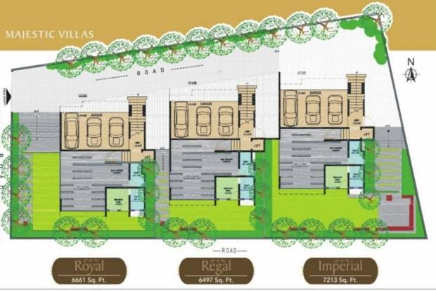 Niche Majestic Villas Layout Plan