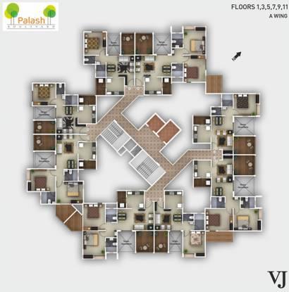 Vilas Javdekar Palash Boulevard Cluster Plan