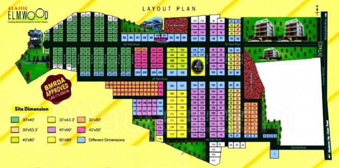 Classic Elmwood Layout Plan