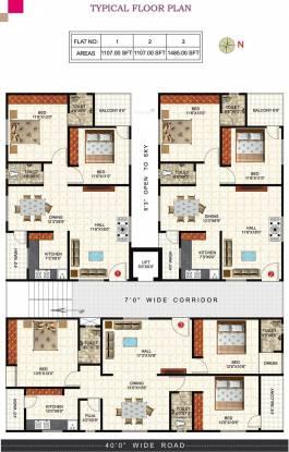 Prem Rama Residency Cluster Plan