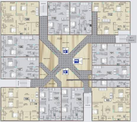 Vmaks Heights Cluster Plan