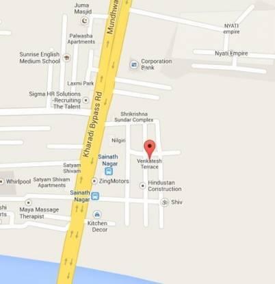 Venkatesh Venkatesh Terrace Location Plan