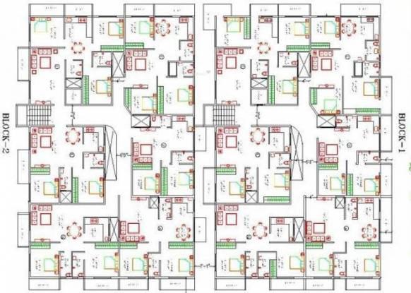 Aryan Build Estates Pvt Ltd Moon Stone Cluster Plan